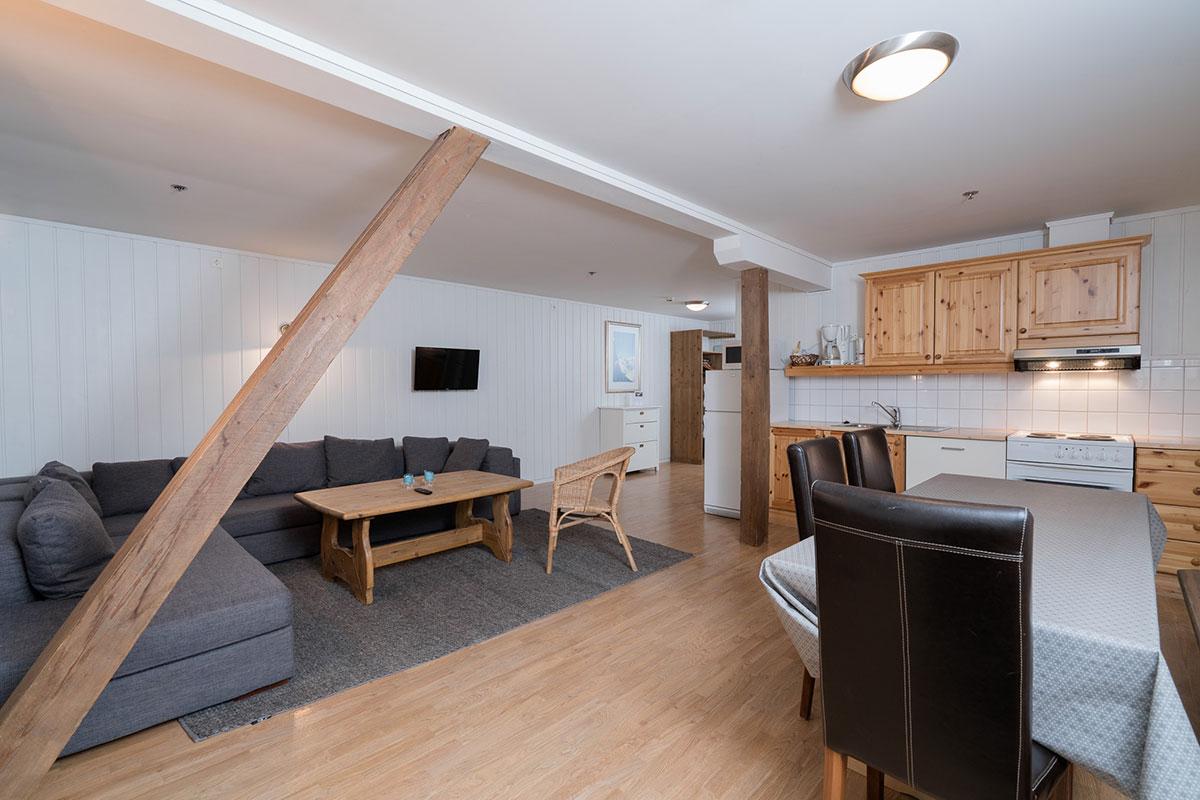 6-sengs leilighet
